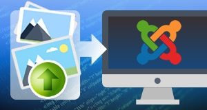 Digital Asset Upload On Joomla