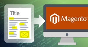 Webpage Content Update On Magento